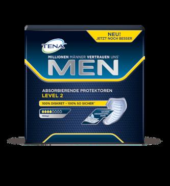 TENA MEN Level 2 – Für Männer zum Schutz bei mittlerem Harnverlust und mittlerer Blasenschwäche