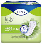 TENA Lady Slim Mini Для защиты при капельном и легком недержании