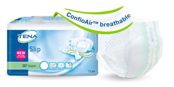 TENA Slip og TENA Comfort med ConfioAir™