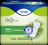 TENA Lady Slim Normal Компактные прокладки для защиты при недержании