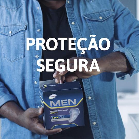 TENA Men Protetor Absorvente para perdas de urina nos homens