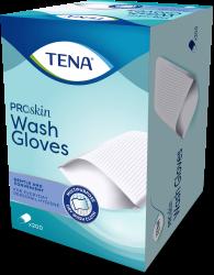 TENA Wash Gloves ProSkin | Gant sec doux pour la toilette quotidienne