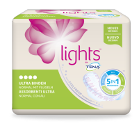 lights by TENA  Ultra verbanden met vleugels