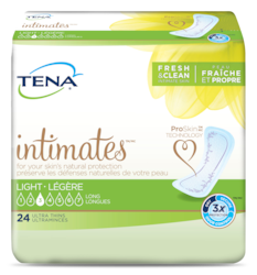TENA Intimates Ultra Thin Light Long Pack