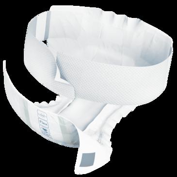 TENA Flex Ultima ProSkin– Change complet d'incontinence avec ceinture à action absorbante, avec triple protection assurant garde au sec, douceur et sécurité antifuites.