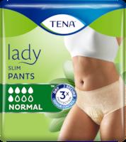 TENA Lady Slim Normal | Впитывающие трусы для женщин для защиты при недержании