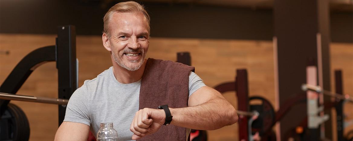 Manter forma no homem com mais de 40