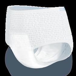 """""""TENA ProSkin Pants Extra"""" – sugeriančios šlapimo nelaikantiems žmonėms skirtos sauskelnės-kelnaitės su triguba apsauga yra minkštos, užtikrina sausumą ir apsaugo nuo pratekėjimo."""