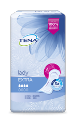 TENA Lady Extra Incontinence Pads for women