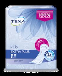 """""""TENA Lady Extra Plus"""" šlapimą sugeriantys paketai moterims"""