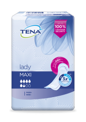 TENA Lady Maxi Incontinence Pads for women