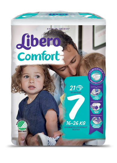 A package of Libero Comfort 7