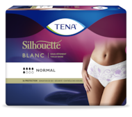 TENA Silhouette Normal Taille basse Blanc