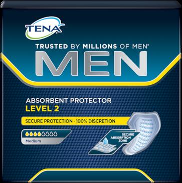 TENAメン 吸収性もれ防止パッド もれや急な尿意があっても安心