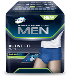 TENA Men Pants Active Plus bilde av emballasje