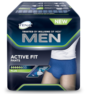 TENA Men Active Fit Pants Plus packshot
