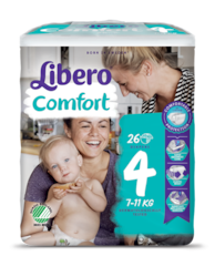 A package of Libero Comfort 4