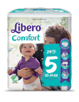 A package of Libero Comfort 5