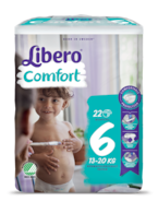 A package of Libero Comfort 6