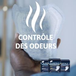 Protections TENA Men avec Odour Control