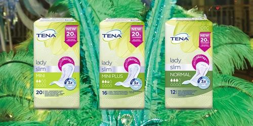 Ассортимент продукції TENA Lady