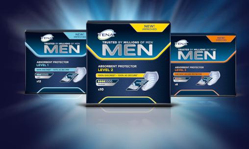 Produkty TENA Men