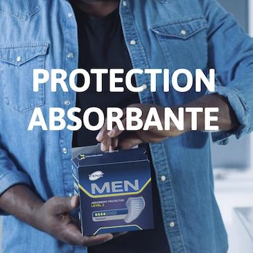 TENA Men Protection Absorbante pour les fuites urinaires masculines